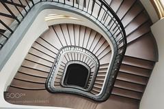 Staircase (hammockbuddy) Tags: ifttt 500px city street travel light europe old urban architecture cityscape building stairs germany staircase university frankfurt deutschland explore hessen darmstadt hesse