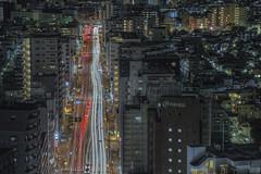Tokyo 4082 (tokyoform) Tags: tokyo tokio  japo japn giappone nhtbn tquio           chrisjongkind tokyoform  japanese asia asian city     ciudad cidade ville stadt urban  cityscape skyline paesaggiourbano paisagemurbana paisajeurbano paysageurbain   stadtbild     night m       nuit nacht street  calle rue strase  road trfego trfico verkehr    longexposure