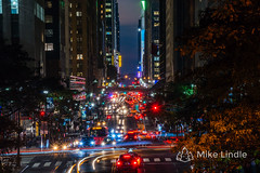 2016-Oct-17-Tudor_City-19.jpg (mikelindle) Tags: city ny ny16 cars concrete concretejungle desnity lighttrails longexposure newyork newyorkcity nyc pavement people population skyscrapers urban