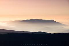 On The Top II (vs_foto) Tags: canon canon7d sierranevada spanien mulhacen mountains fog sunrise morning high landscape landschaft sky berg yellow