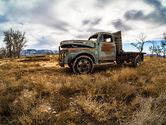 Ford Dually Flatbed (Harvey Richards) Tags: