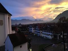 Stans (Priska B.) Tags: stans nidwalden schweiz switzerland swiss svizzera ch nw morgen kirchenbezirk dorfplatz kirche lbergkapelle