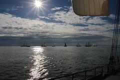 spotlight (Jensje) Tags: netherlands klipperrace 2016 clipper race sailing ijsselmeer wind white light segeln