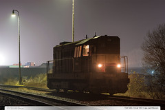 742.345-2 | trať 331 | Lípa nad Dřevnicí (jirka.zapalka) Tags: lipanaddrevnici stanice fog czech trat331 train rada742 cdcargo autumn