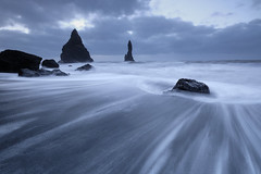 Stay, Flow (3dgor ) Tags: iceland reynisfjara beach reynisfjarabeach water wave landscape flow silky slowshutter