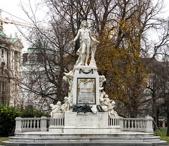 Mozart, what else in Vienna? (johnc001) Tags: memorial mozart sculpture vienna