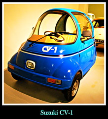 Suzuki CV-1 (PictureJohn64) Tags: auto heritage classic car museum automobile driving traffic famous den transport hague collection commercial transportation historical suzuki haag collectie fahrzeug oto historisch verkeer vervoer klassiek  samochd beroemd cv1 gravenhage otomobil louwman automobiel worldcars  automoviel klassiesch