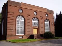 Slitting Mill Pumping Station i Mar 2010 (DizDiz) Tags: uk england 1932 staffordshire cannockchase artdecoarchitecture olympusc720uz