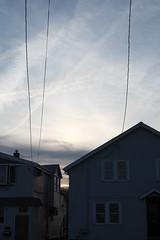 Revere, MA. (Brian Maryansky) Tags: beach fuji wires fujifilm suburbs revere xpro1