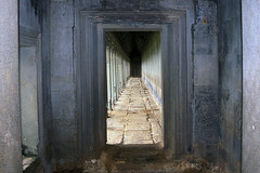 Angkor Wat - One of the Outer Wall Galleries