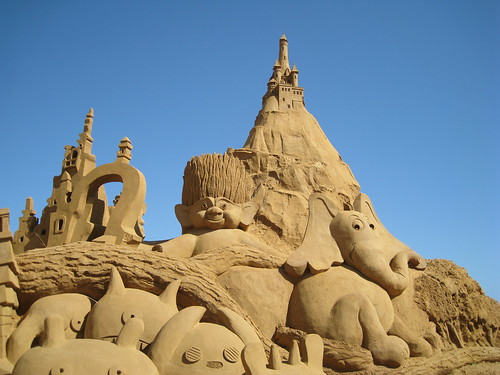 Sand Sculpting Australia 2012