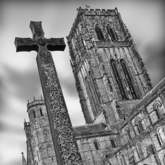 Durham Cathedral (clemansfield) Tags: blackandwhite mono cathedral monochromatic durhamcathedral northeastengland bigstopper
