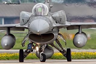 Polish AF Lockheed Martin F16C 4061 RAF Mildenhall