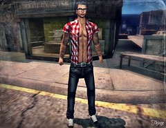 ..:: OUTFIT 13 ::.. (NyTrO StOrE) Tags: street urban woman man store mesh wear clothes hip hop styel nytro