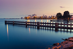 Kingston (Jason Cowell Photography) Tags: ontario canada water canon long exposure downtown dusk mark kingston ii nd 5d 35l