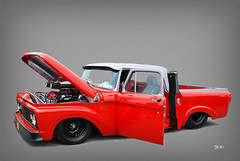 1965 Ford Unibody Drag Truck (SpeedProPhoto) Tags: truck pickup f100 racetruck unibody fordsupernations