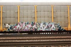 TICKET ALTR (The Braindead) Tags: art minnesota train bench photography graffiti painted tracks minneapolis rail ticket explore beyond twincities ifc the braindead railart rfm altr