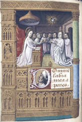London BL Egerton 2045 fol-178v (petrus.agricola) Tags: london library medieval illuminated british creator manuscript pentecost veni spiritus