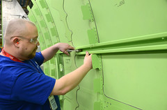 KC-46 Tanker production begins in Wichita (Spirit AeroSystems) Tags: spirit boeing wichita tanker spiritaerosystems kc46 spiritaero