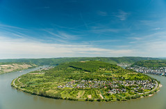 Romantic Rhine: Slope near Boppard (rheinland-pfalz) Tags: cruise vacation holiday castle river germany rhine slope hamm boppard middlerhine filsen