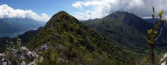The ridge between Cima al Bal and Cima Nara (WeatherMaker) Tags: italien italy mountains alps hiking alpen nara trentino cima bal lagodigarda gardasee pregasina