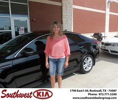 Southwest KIA of Rockwall would like to wish a Happy Anniversary to Jodi Bennyhoff on your 2012 Kia Optima (Southwest Kia Rockwall) Tags: new southwest car sedan truck wagon happy dallas texas tx used vehicles mesquite bday dfw kia van suv coupe rockwall dealership hatchback dealer customers minvan 4dr metroplex shouts 2dr preowned