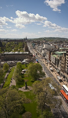 Princes Street (tompickwellphotography) Tags: scotland edinburgh princesstreetgardens princesstreet scottmonument