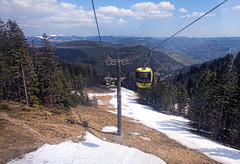 Cable Car at the Belchen (ka2rina) Tags: mountain gondola blackforest belchen germany2013
