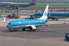 PH-BXM (GerardvdSchaaf) Tags: aircraft airplane aviation civil airliner schiphol klm boeing737 boeing 737 phbxm eham