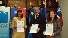 Firma de Convenio Tripartito Copiapó