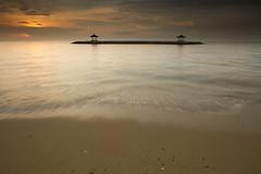 Bale Bengong at Pantai Karang, Sanur, Denpasar (januartha) Tags: bali beach denpasar sanurbeach pantaikarang