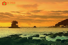 Strand (Chaz Tumbelaka Photography) Tags: sunset balikpapan