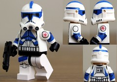 Custom LEGO Clone Trooper Kix (Clone Wars Phase 2) (JPO97Studios) Tags: trooper star lego helmet 501st wars custom clone medic decals kix umbara jpocustoms jpostudios jpo97studios