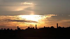 Sun Setting by Linda Nicholson (P&L Nicholson Photography) Tags: isles shetland fetlar