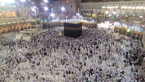 Khana e kaaba view from haram 3rd floor