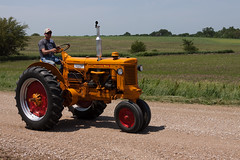 2013 Great Nebraska Tractor Ride-239 (nebugeater) Tags: tractor west point nebraska ride antique great minneapolis ne raymond ub moline ktic