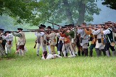 Revolution_155 (Sharp Perspective Photography) Tags: history colonial british reenactment colony musket firelock