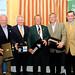 Dick Bourke with 2nd Place winners Fergal Mulchrone, John Mullan, President of Ratsallagh & Tim Fenn, CEO IHF