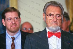 Dr. C Everett Koop at the Oval Office (Richard Ellis Photography) Tags: usa horizontal america us dc washington districtofcolumbia day serious whitehouse bowtie headshot medical indoors doctor doctors lookingaway ovaloffice koop halflenght surgeongeneral davidkessler drceverettkoop