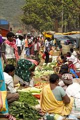 Kunduli market 4 (bag_lady) Tags: india market tribal trading selling bartering fruitvegetables adivasi weeklymarket kunduli kondhs earthasia odisha sworissa