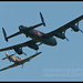 BBMF Hurricane and Lancaster