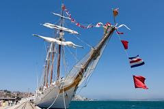 Elcano (FWHM) Tags: mar ship armada tallship santander buque velero