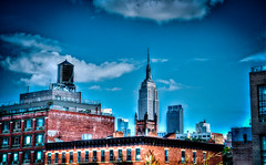 Empire State Building, New York (dekard72) Tags: new york city building nikon state manhattan empire hdr highline d7000