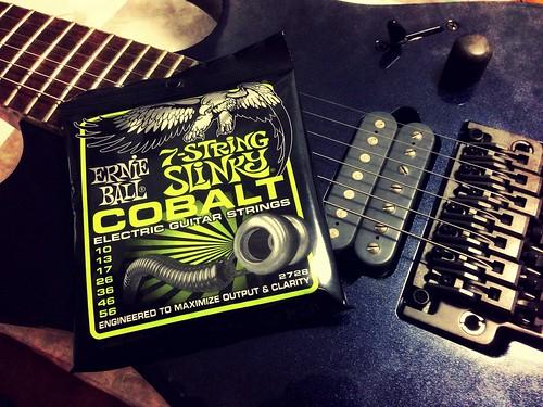 ERNIE BALL #2728 Cobalt 7-Strings Regular Slinky