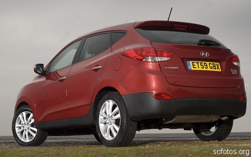 Hyundai ix35 CRDi vermelho