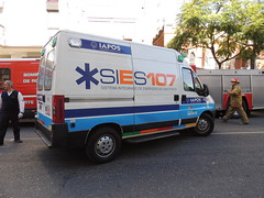EXPLOSIÓN ROSARIO (Upper Uhs) Tags: argentina argentine ambulance disaster rosario emergency 107 ambulanse emergencia emergência ambulancia desastre argentinien ambulans sies explosión ambulanzia iapos sies107
