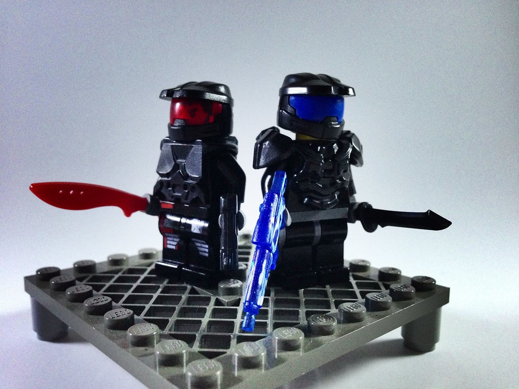 The world 39 s newest photos of brickwarriors and halo - Lego spartan halo ...