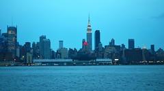 NYC Skyline - Evening