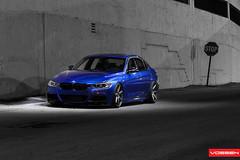 BMW 335i - VVSCV7 (VossenWheels) Tags: blue cars photography bmw society concave vossen 335i hardparked teamvossen