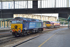 GM Galore (DM47744) Tags: west station train coast shed rail loco locomotive thunderbird carlisle services direct citidal mainline class66 drs ews class57 57311 66087